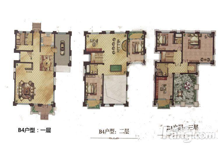 天鹅湖庄园户型图