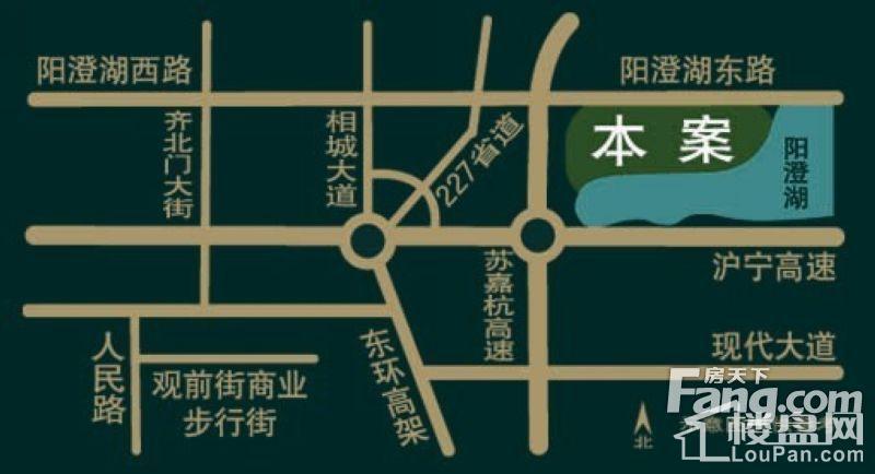 银丽高尔夫公寓位置图