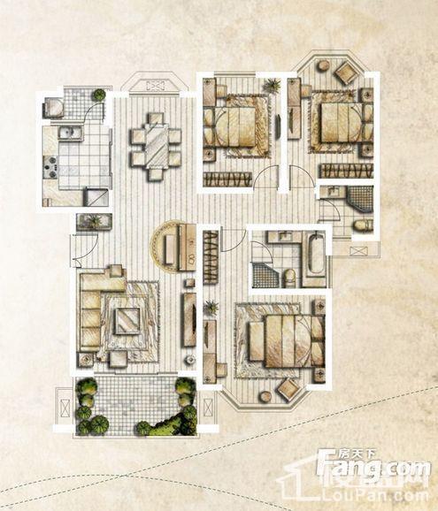 银丽高尔夫公寓户型图