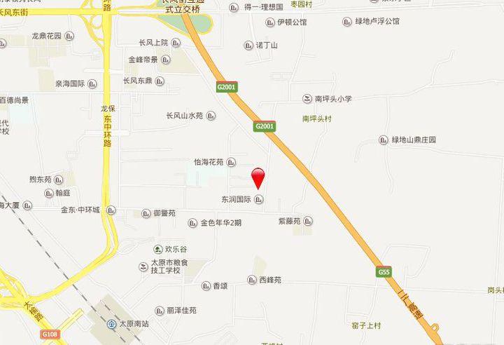 东润国际新城4期院墅位置图