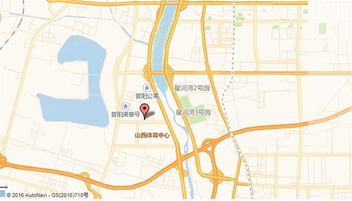保利晋阳湖地块位置图