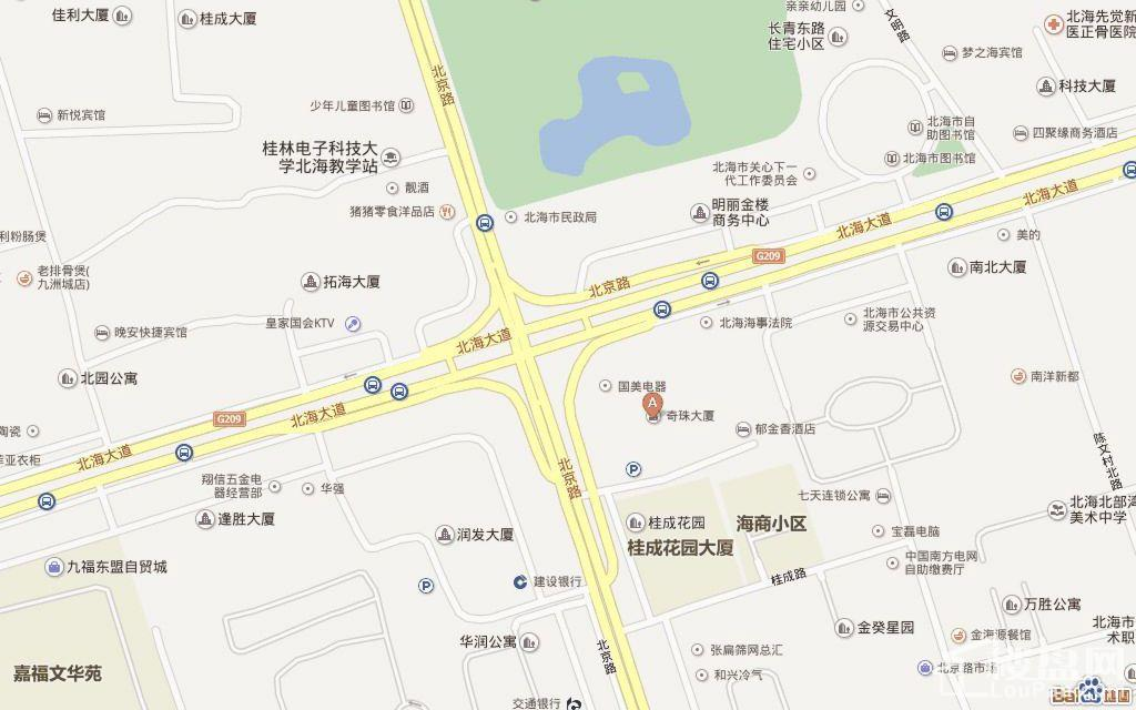 奇珠财富大厦位置图