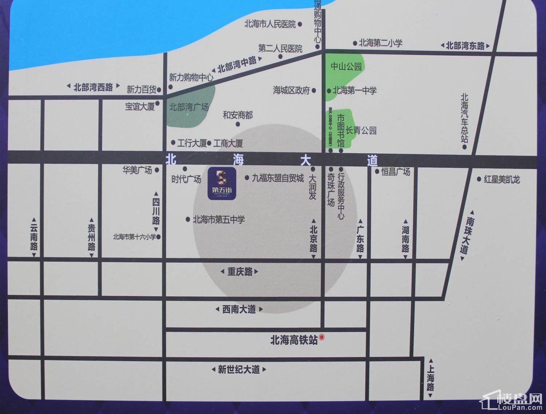 第五街二期位置图