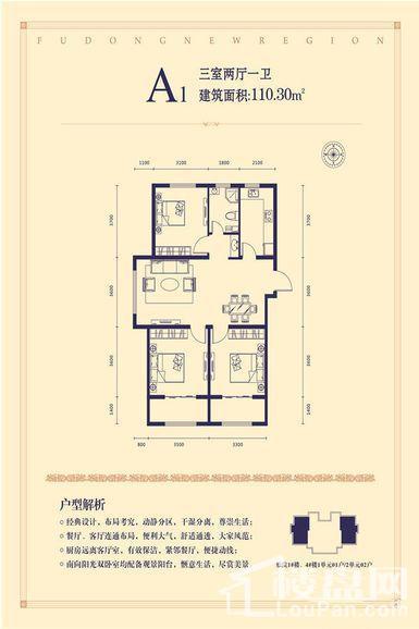 五龙湾·府东新域户型图