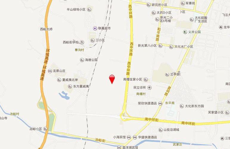 太行温泉城位置图