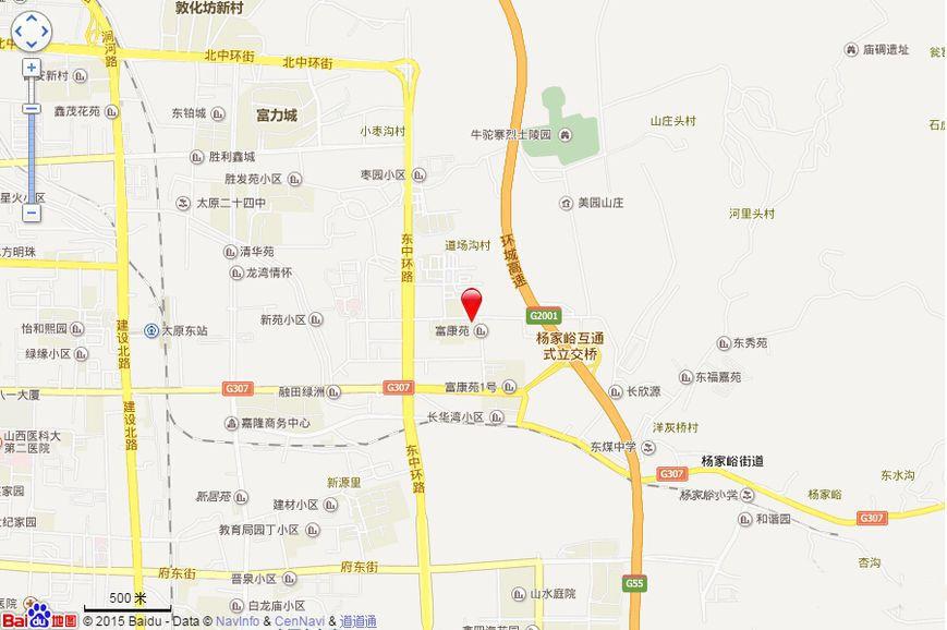 千渡·东山晴位置图