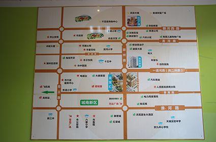 格林豪泰酒店SOHO公寓位置图