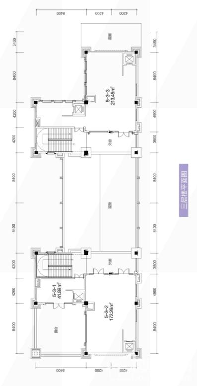 5栋3层平面图