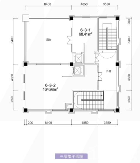 6栋3层平面图