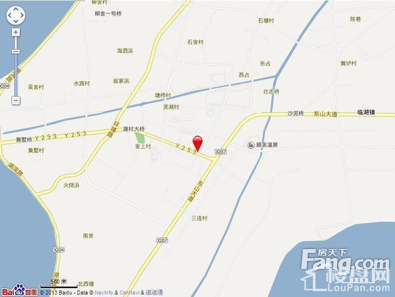 太湖悦达广场位置图