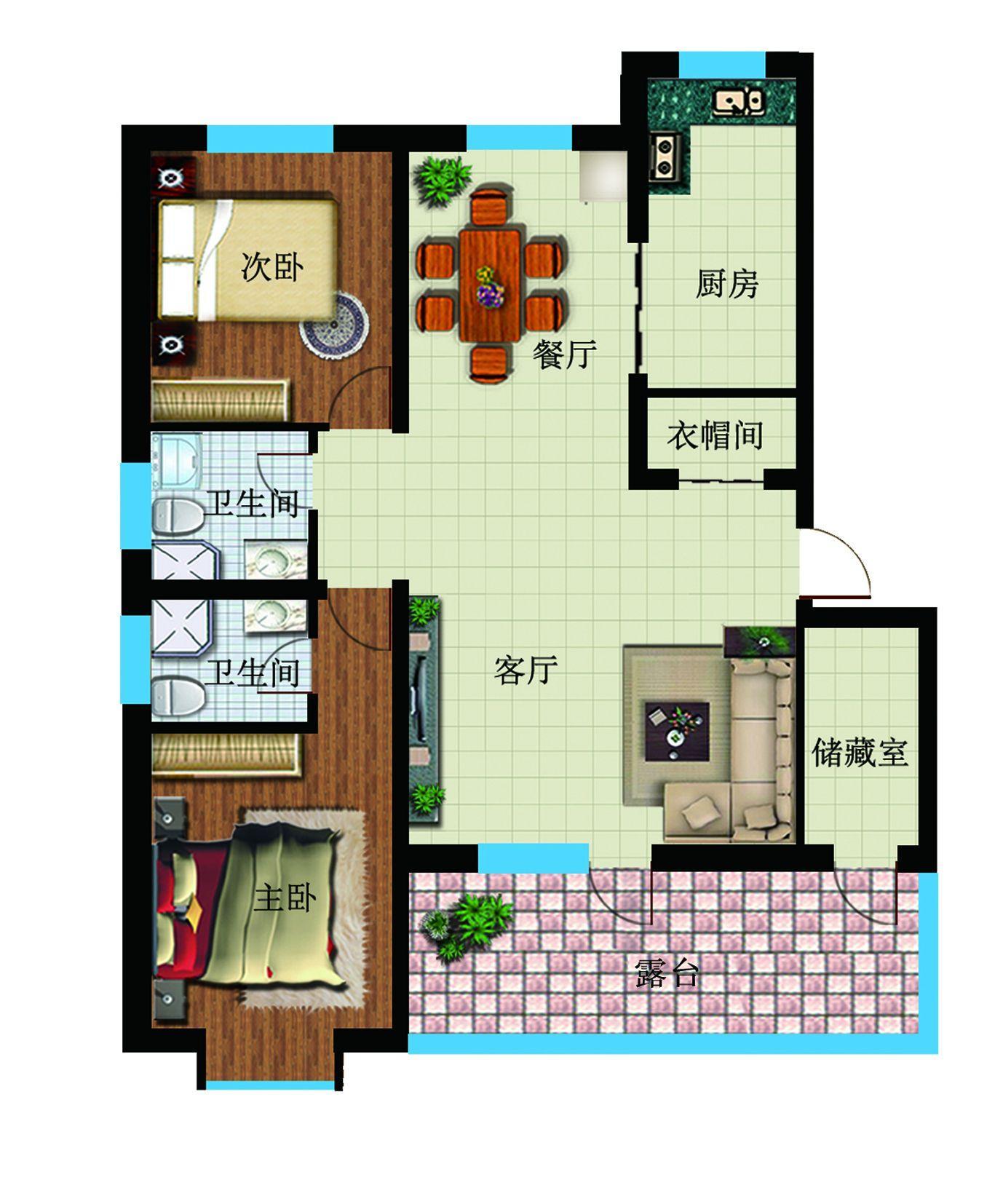 鑫城户型图