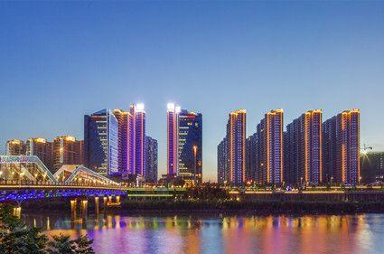 珠江·愉景新城实景图
