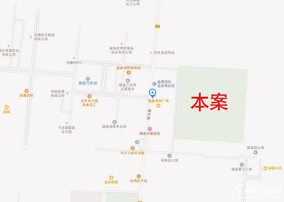 鑫城位置图