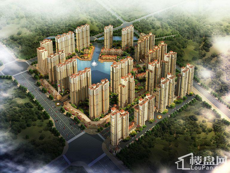 兰亭·御湖城东区效果图