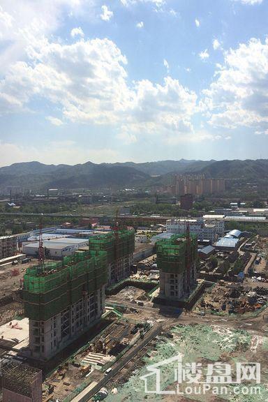 兰亭御湖城西区实景图