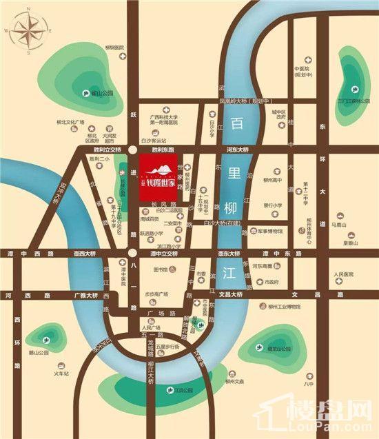 云星·钱隆世家位置图