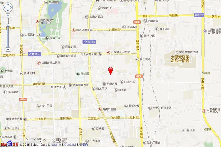 怡和•中馨城位置图