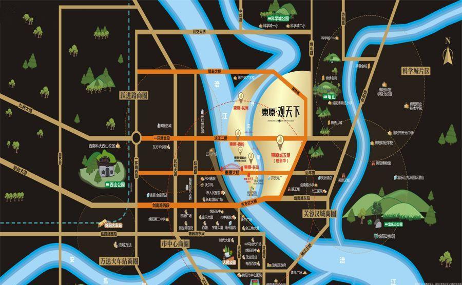 东原观天下位置图