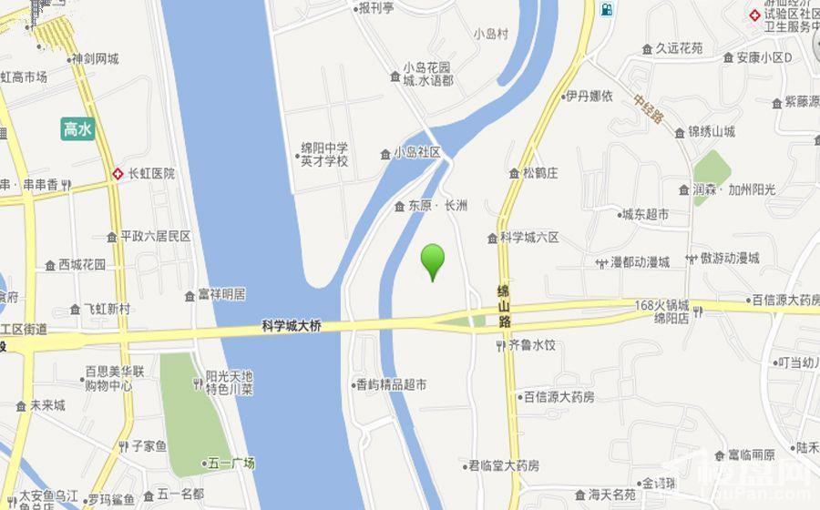 东原观天下-区域图