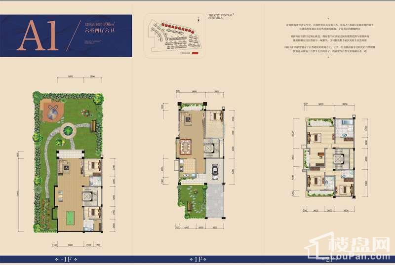 远大美域一期别墅A1户型图