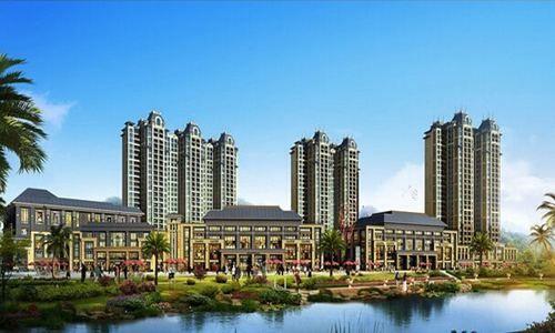 后海温泉新城实景图
