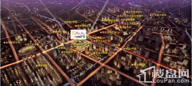 万宝财富广场规划图
