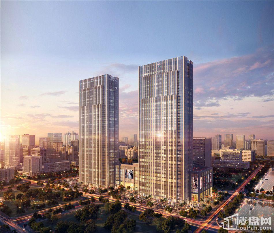 苏州城市生活广场效果图