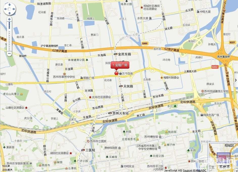 宝隆广场位置图