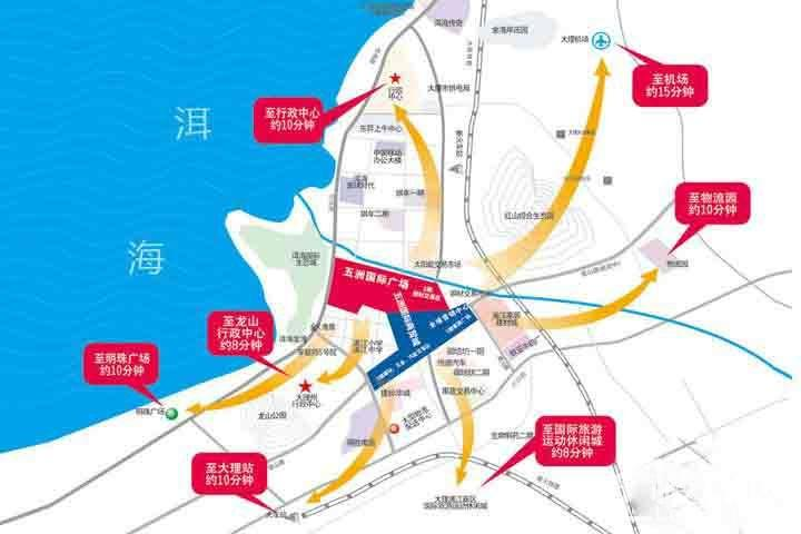 五洲国际商贸城位置图