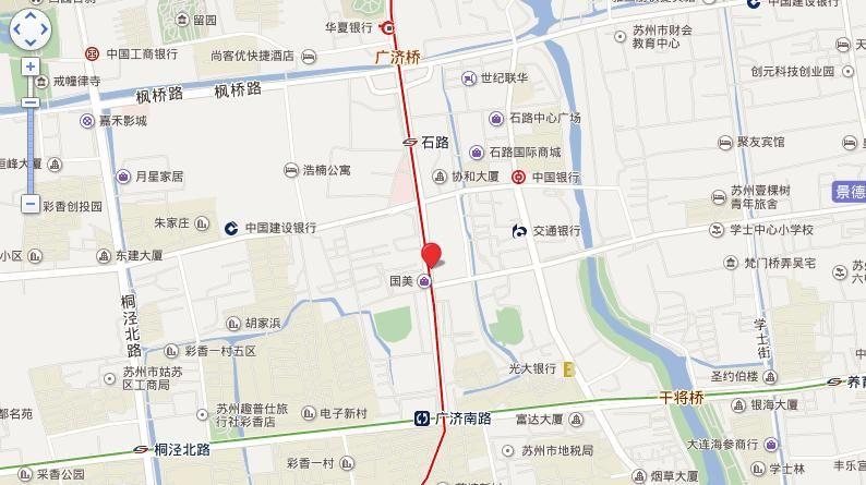 国展中心广场位置图
