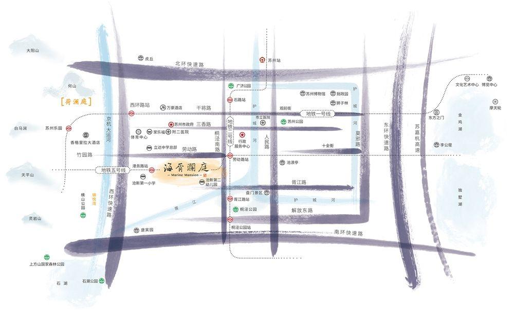 海胥澜庭位置图