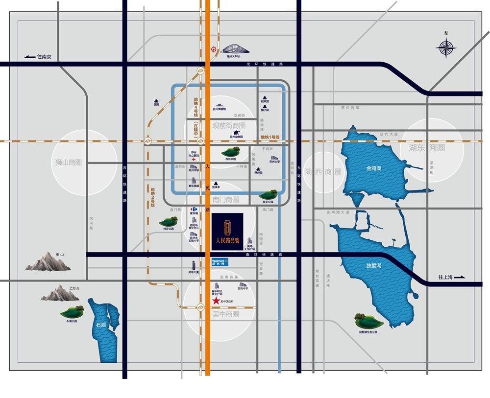 朗诗人民路8号位置图