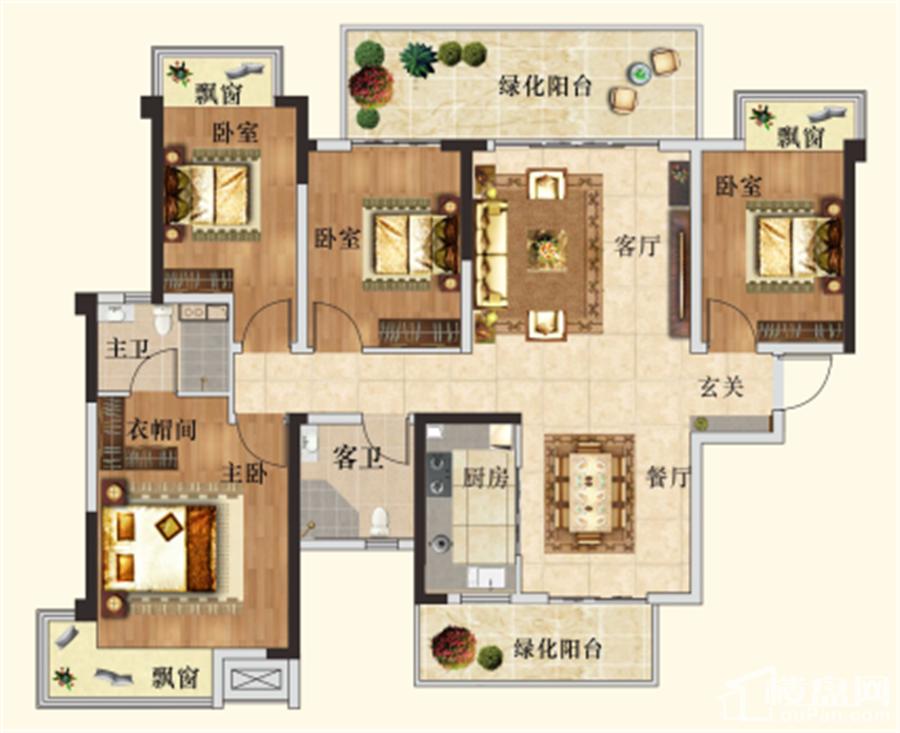 新希望锦官城6#/7#/8# C3户型