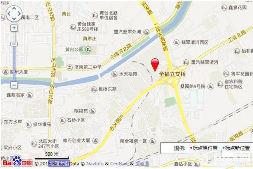 荣盛·时代国际位置图
