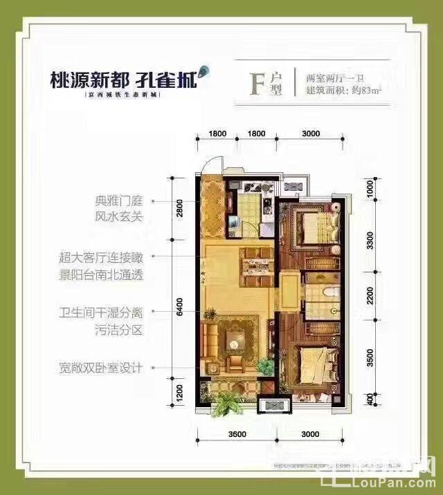 涿州《孔雀城》户型图