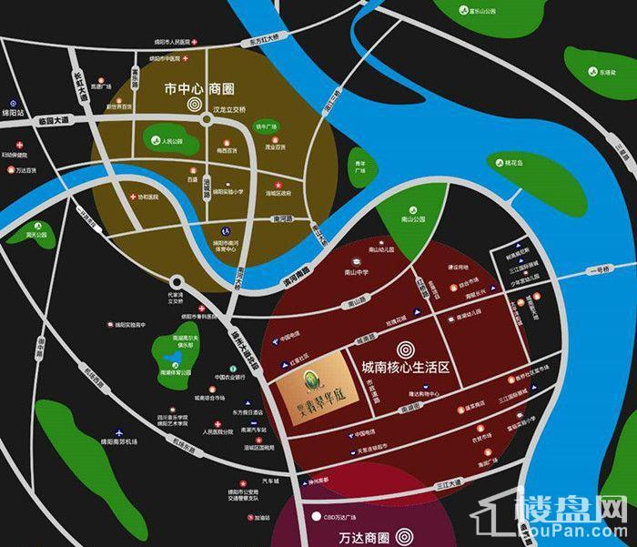 恒大·翡翠华庭区域图