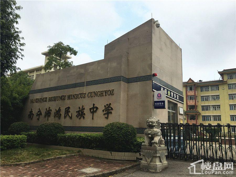 新希望锦官城周边教育配套图(摄于2017.2.10)