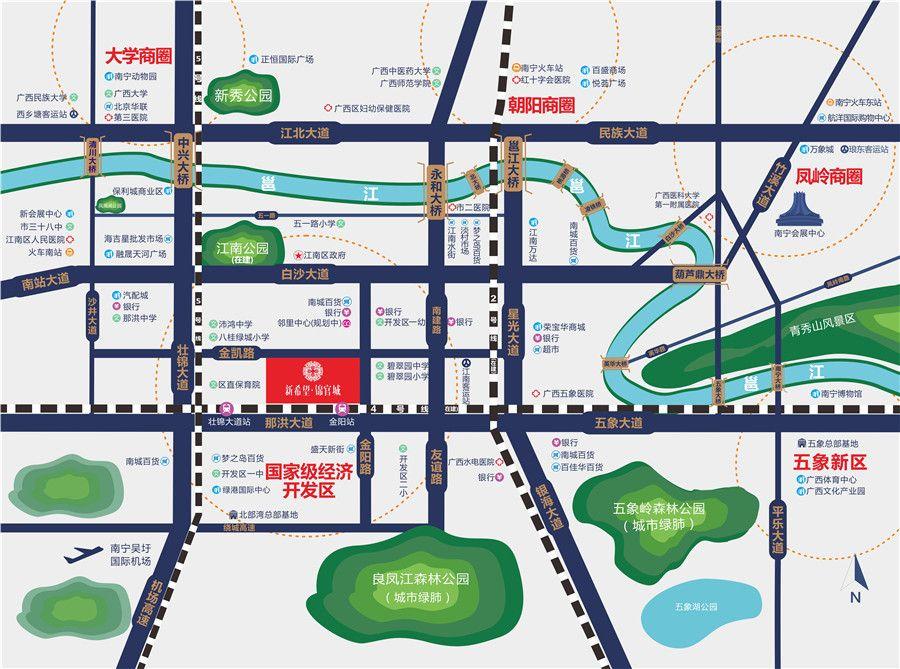 新希望锦官城位置图