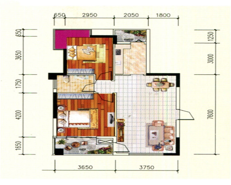 金野·美和家园户型图