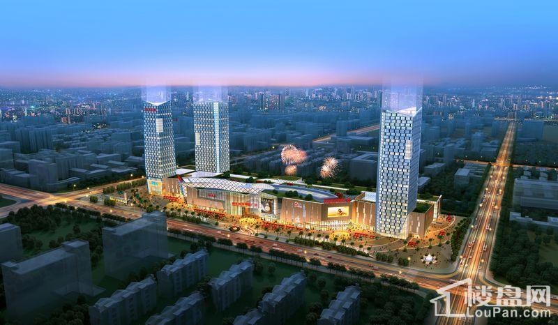 新区港龙城市商业广场效果图