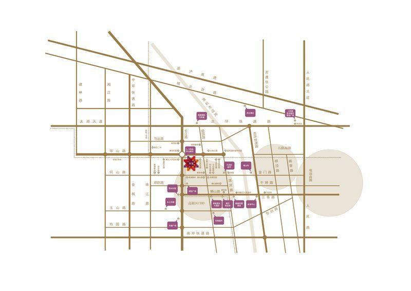 新区港龙城市商业广场位置图