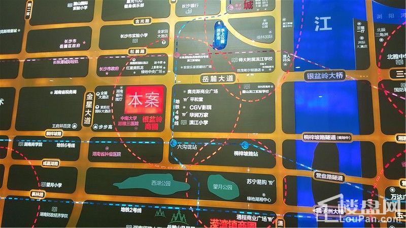 香江国际区位图