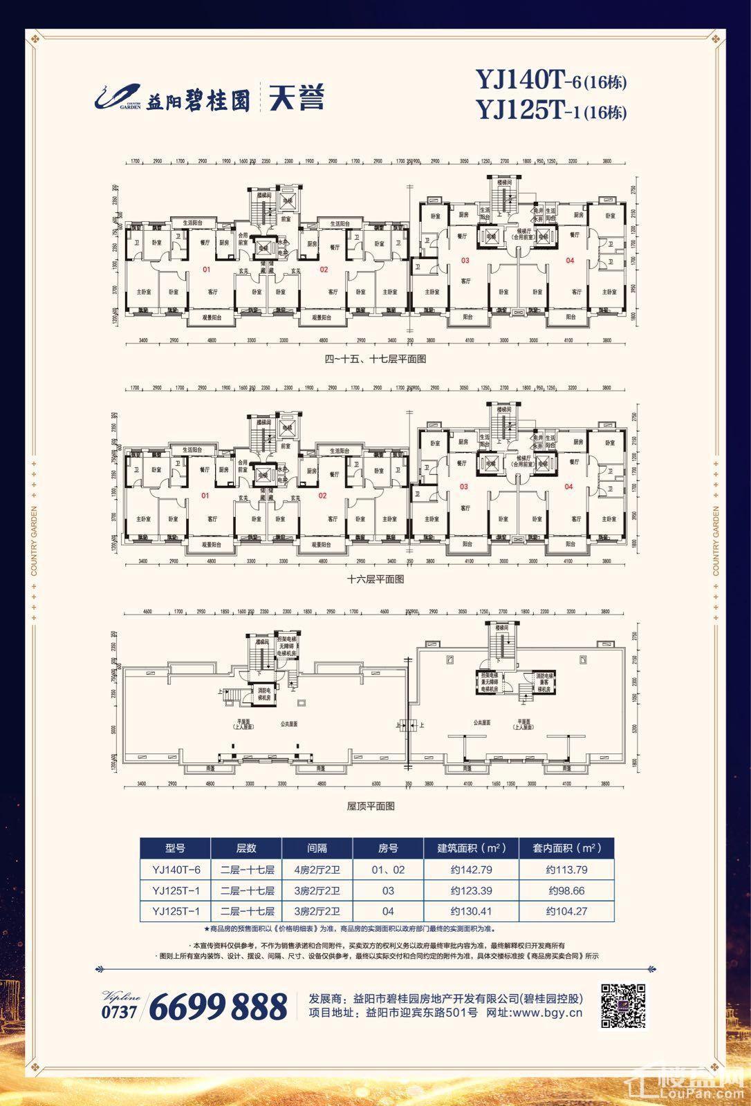 益阳碧桂园16栋户型图