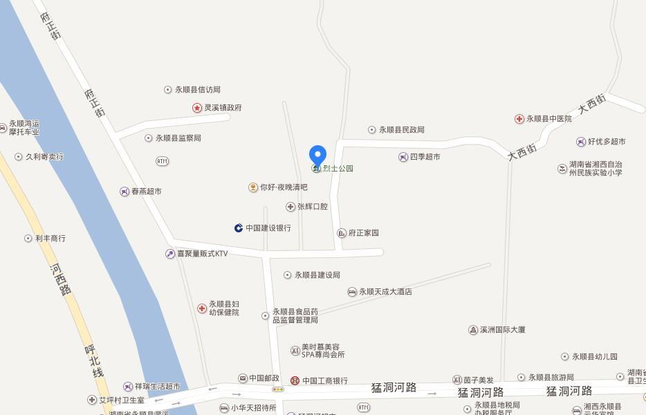 大汉天街位置图
