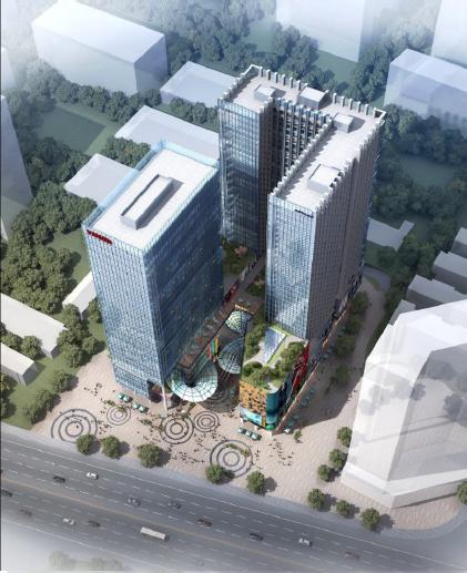 东盈商业广场效果图