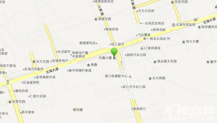 世鑫大厦 位置图
