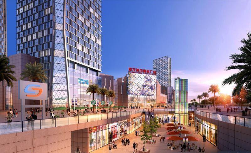 港龙城市商业广场效果图