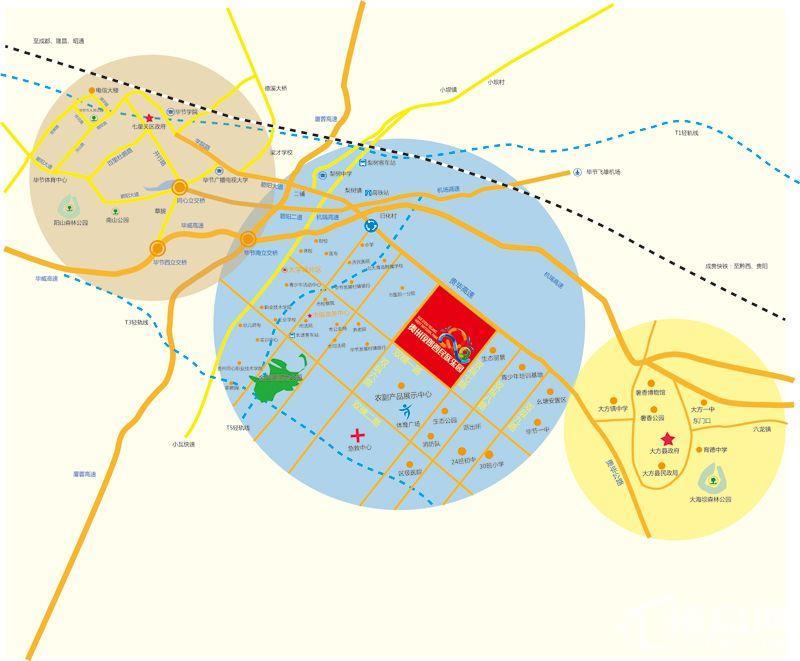 贵州夜郎西民族乐园位置图