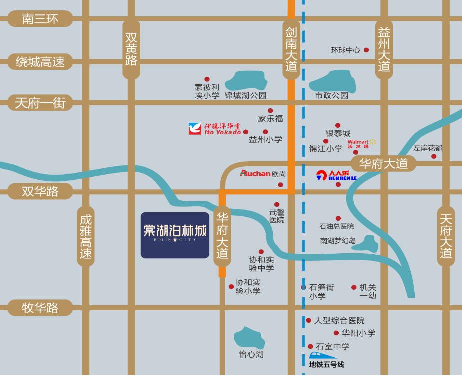 棠湖泊林城位置图