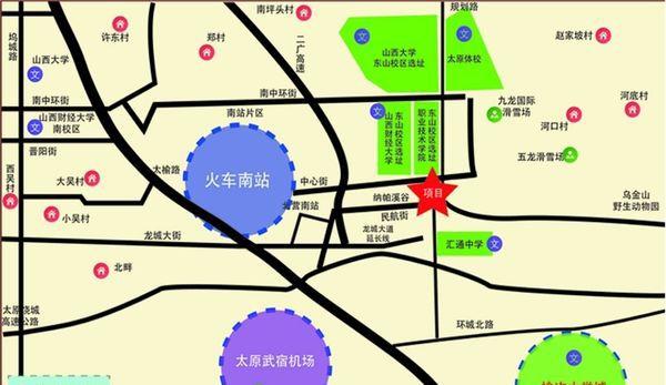 龙城金帝园位置图